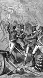 la detención de Louis Napoleon stock de ilustración