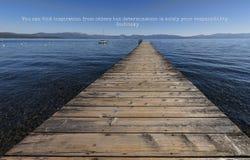 La determinación es solamente su responsabilidad Fotografía de archivo libre de regalías