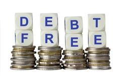 La dette libèrent image libre de droits