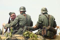 La deuxième guerre mondiale photographie stock libre de droits