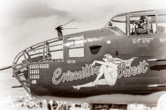 La deuxième guerre mondiale de vintage Photographie stock