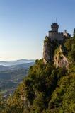 La deuxième tour : le Cesta ou le Fratta, Saint-Marin, Italie photo libre de droits