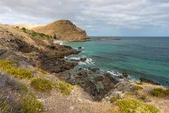 La deuxième vallée iconique située sur les sud de péninsule de Fleurieu photographie stock