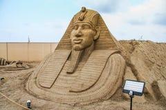 La devise du grès sculpté est Sandland images stock
