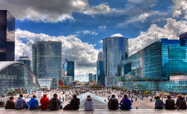 La défense de La Photo stock