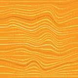 La diagonal decorativa abstracta arrugó el fondo texturizado rayado ondulado Colores amarillos Vector Fotos de archivo libres de regalías
