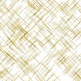 La diagonal del oro alinea el fondo metálico de la falsa hoja Foto de archivo