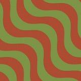 La diagonal verde y marrón de 3D retro agita con textura Imagen de archivo