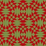 La diagonal verde y marrón de 3D retro agita con textura Fotografía de archivo