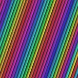 La diagonale astratta luminosa variopinta allinea il desig di struttura del fondo Immagine Stock