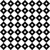 La diagonale de vintage ajuste en échiquier les lignes croisées modèle ou fond de vecteur Texture pour des tuiles Photos libres de droits