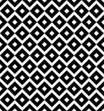 La diagonale de vintage ajuste en échiquier les lignes croisées modèle ou fond de vecteur Texture pour des tuiles Photo stock