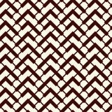 La diagonale di Chevron barra il fondo astratto Modello di superficie senza cuciture con l'ornamento geometrico Linee orizzontali royalty illustrazione gratis