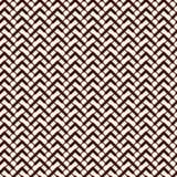 La diagonale di Chevron barra il fondo astratto Modello di superficie senza cuciture con l'ornamento geometrico Linee orizzontali illustrazione vettoriale