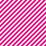 La diagonale rosa e bianca scura barra il modello senza cuciture illustrazione di stock