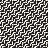 La diagonale senza cuciture di zigzag di Chevron di vettore allinea il modello geometrico royalty illustrazione gratis