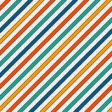 La diagonale viva di colori barra il fondo astratto Linea inclinata sottile carta da parati Modello senza cuciture con il motivo  royalty illustrazione gratis