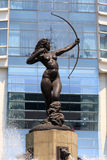 La Diana Cazadora (Diana the Huntress). In Paseo de la Reforma, Mexico City Royalty Free Stock Photography