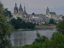 La die Loire, Blois (Frankreich) Stockfotografie