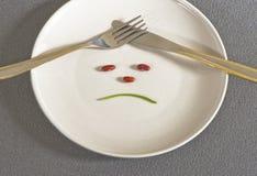 La dieta Fotografia Stock