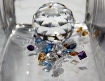 La diferencia de gemas Fotografía de archivo libre de regalías