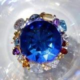 La diferencia de gemas Foto de archivo libre de regalías