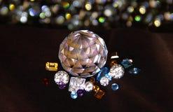 La diferencia de gemas Imagen de archivo libre de regalías