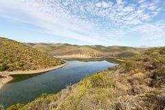 La diga di Calitzdorp immagine stock libera da diritti