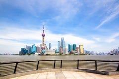 La diga Schang-Hai Fotografia Stock