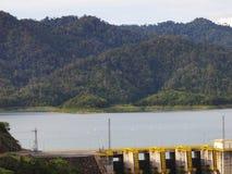 La diga in Tailandia fotografia stock libera da diritti