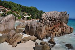 La Digue Royalty Free Stock Photo