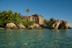 La Digue Images stock