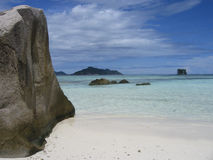 La Digue, Anse Source d'Argent Royalty Free Stock Photos