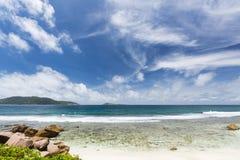 La Digue East Coast, Seychelles Royalty Free Stock Photos