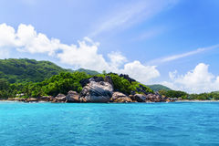 La Digue island, Seychelles. Royalty Free Stock Image