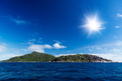 La Digue island, Seychelles. Royalty Free Stock Photos