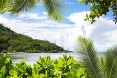 La Digue island, Seyshelles, Anse Source d'Argent. Royalty Free Stock Photo