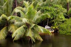La Digue Seychellerna Royaltyfria Foton