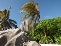 La Digue, Seychelles Fotografia Stock