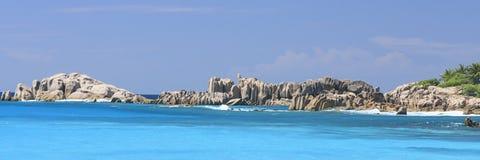 La Digue Seychelles Images stock