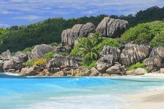 La Digue Seychelles Photographie stock