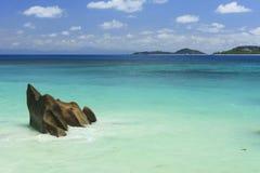 La Digue Seychelles Images libres de droits