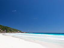 La Digue in Seychelles Stock Photography