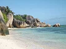 La digue,  Seychelles Stock Image