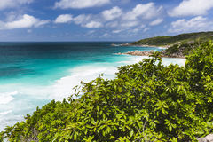 La Digue South Coast, Seychelles Stock Photography