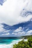 La Digue South Coast, Seychelles Stock Image