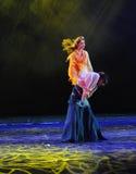 La diosa de la resistencia en el drama de la danza del hombro- la leyenda de los héroes del cóndor Imagen de archivo