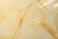La diseguaglianza beige del gesso di sollievo di colore piega, si corruga Fotografie Stock