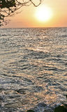 La disminución del día en el Atlantics Imagen de archivo