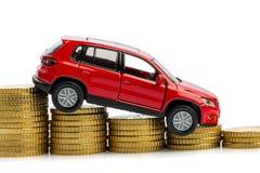 La disminución se beneficia en ventas del coche Fotografía de archivo